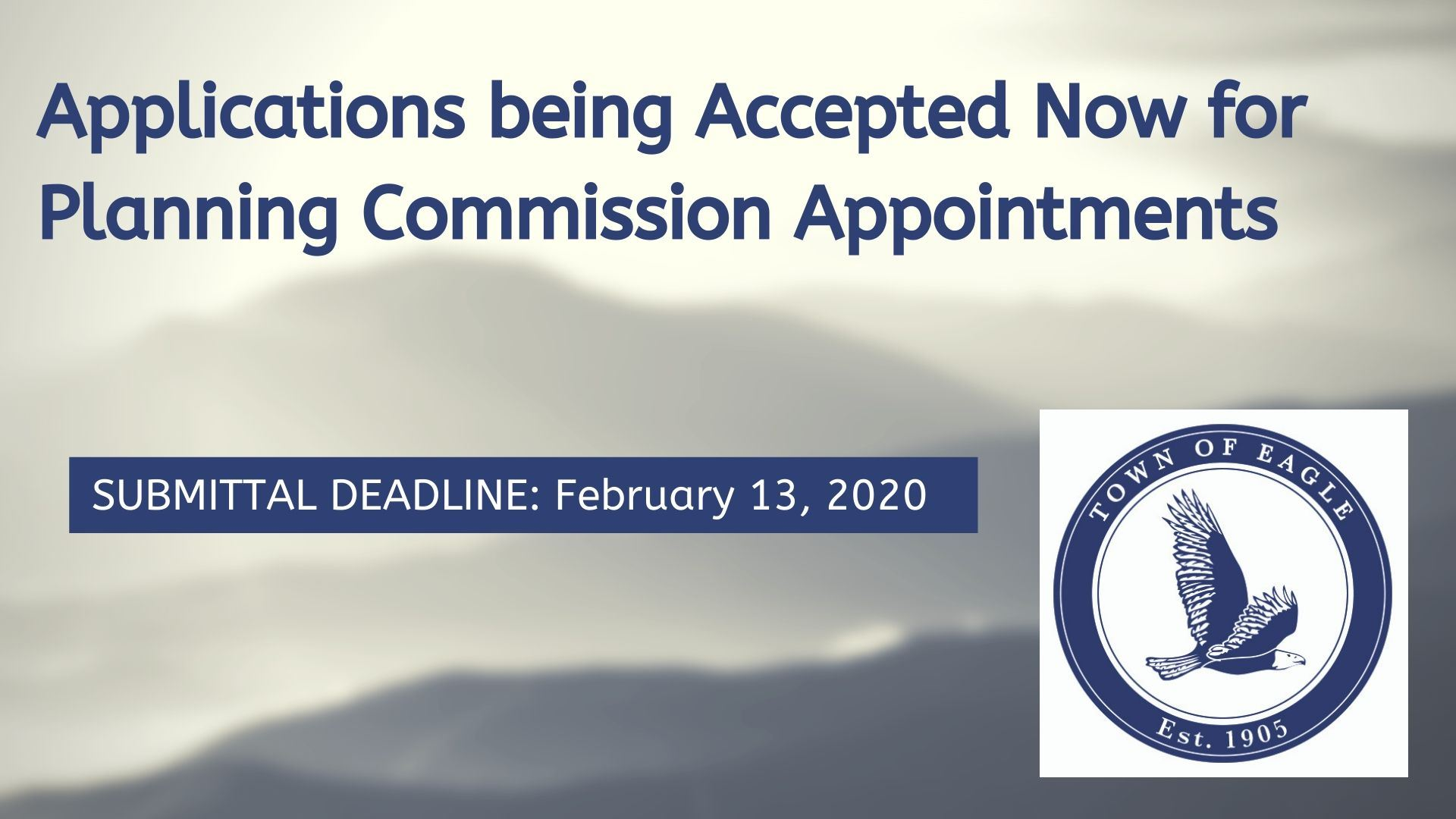 Applications being Accepted Now for Charter Commission Appointment (1)