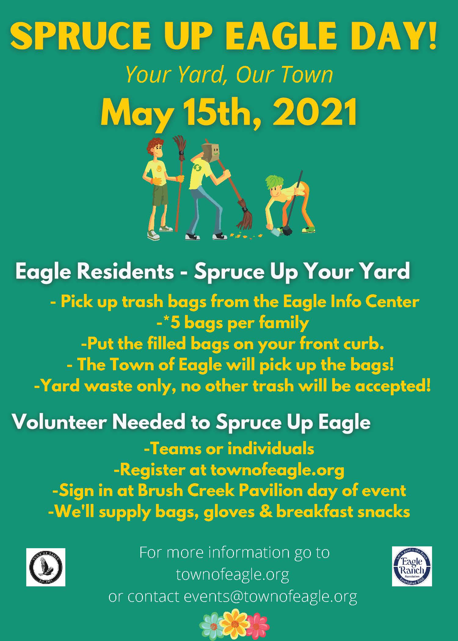 SPRUCE UP EAGLE DAY